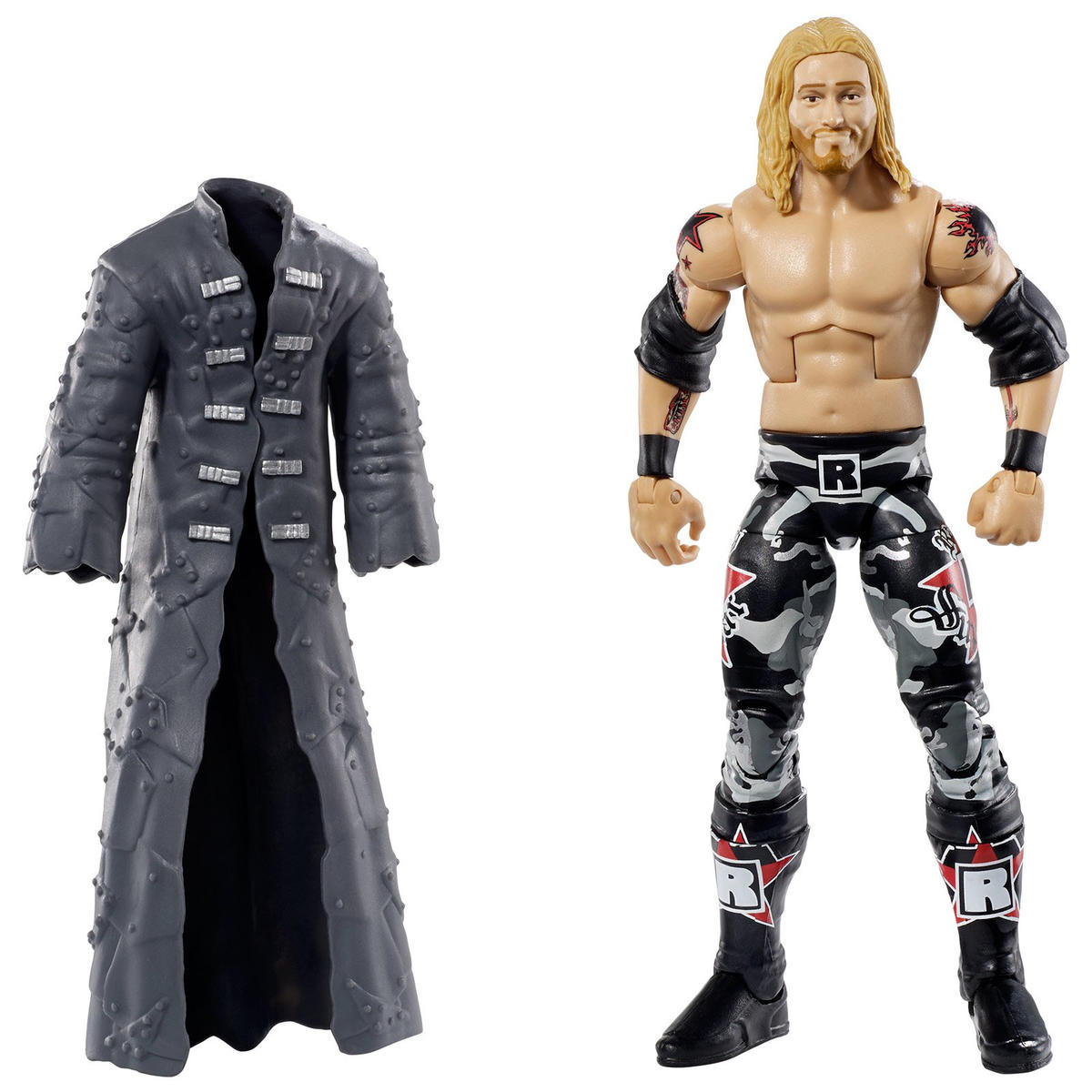Edge, in his fan-favorite camouflage ring attire (WWE Hall of Fame Class of 2012)