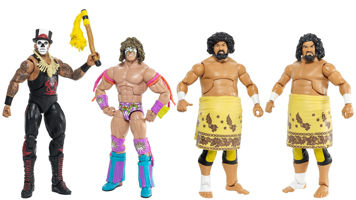 Mattel WWE Hall of Fame action figures are available exclusively at Target!