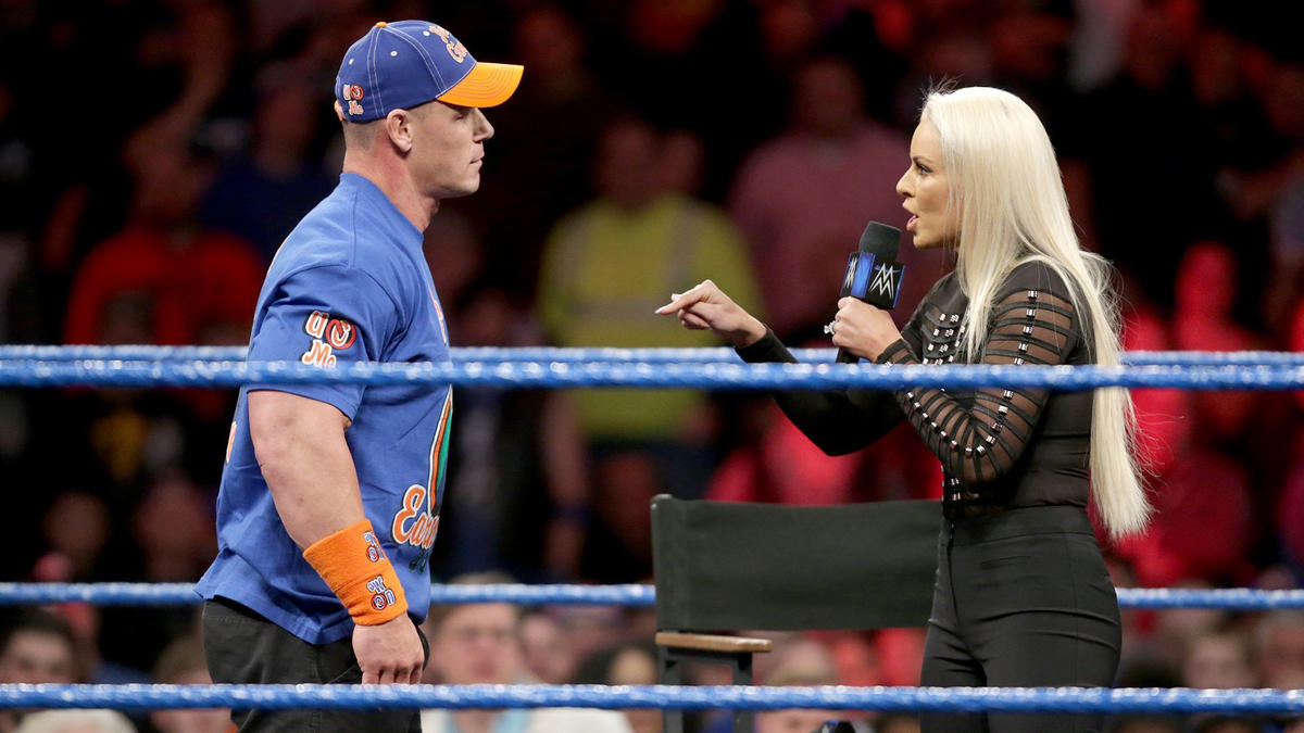 """You are a controlled, ego-maniac freak,"" Maryse says to Cena."