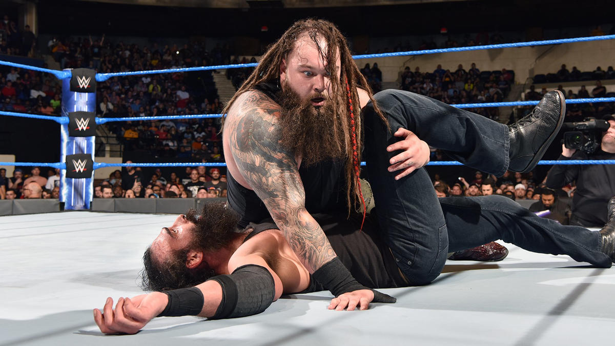 After connecting with Sister Abigail, The New Face of Fear scores the victory over Harper.
