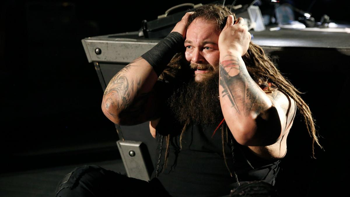 """""""You're about to hear Sister Abigail scream, Bray!"""" Orton says as he sets The Wyatt Family Compound ablaze. """"And now, I am going to burn the soul of Sister Abigail to eternal damnation!"""""""