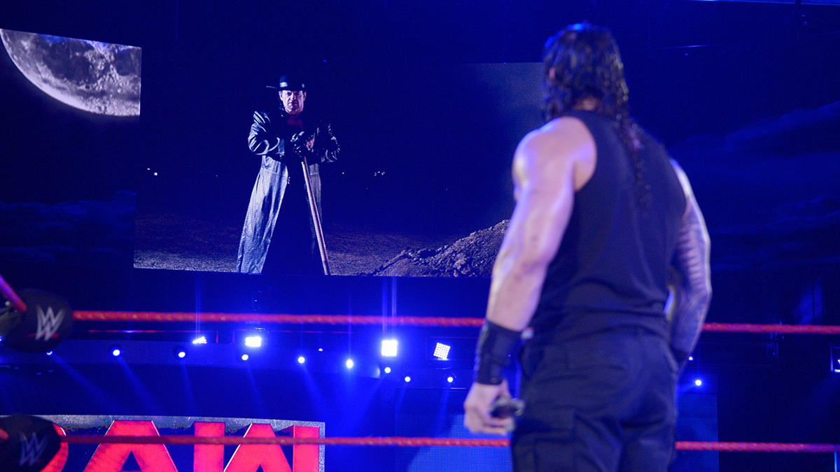 The Undertaker has a bone-chilling message for Reigns.