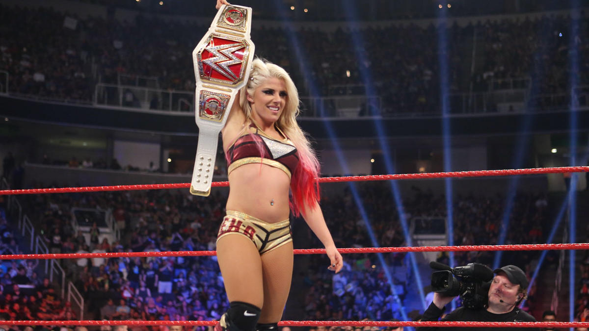 Bliss becomes the first Superstar to hold both the Raw and SmackDown Women's Championships.