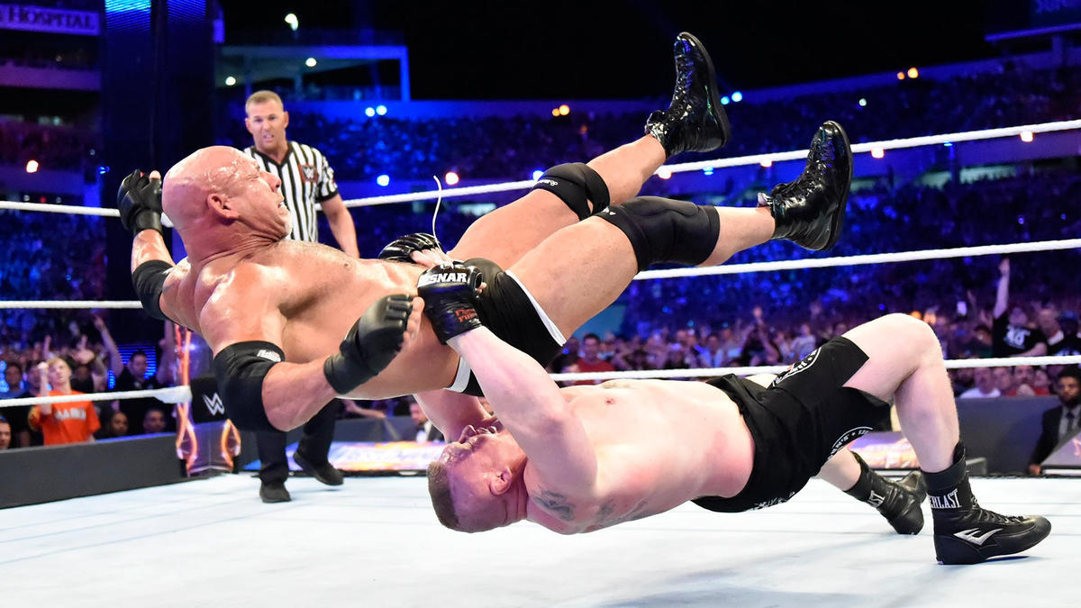 ... and it's off to Suplex City from there.