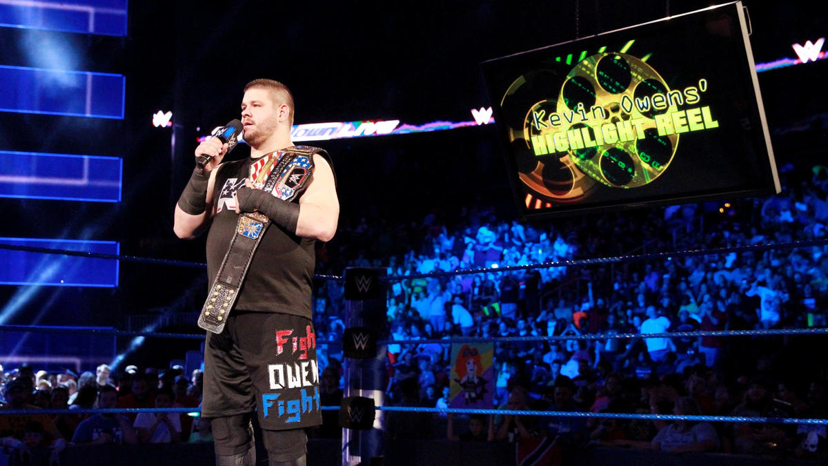 Kevin Owens hosts The Highlight Reel to kick off SmackDown LIVE at Philips Arena.