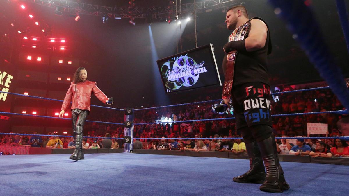 Shinsuke Nakamura electrifies the WWE Universe as he makes his way onto the set of The Highlight Reel.