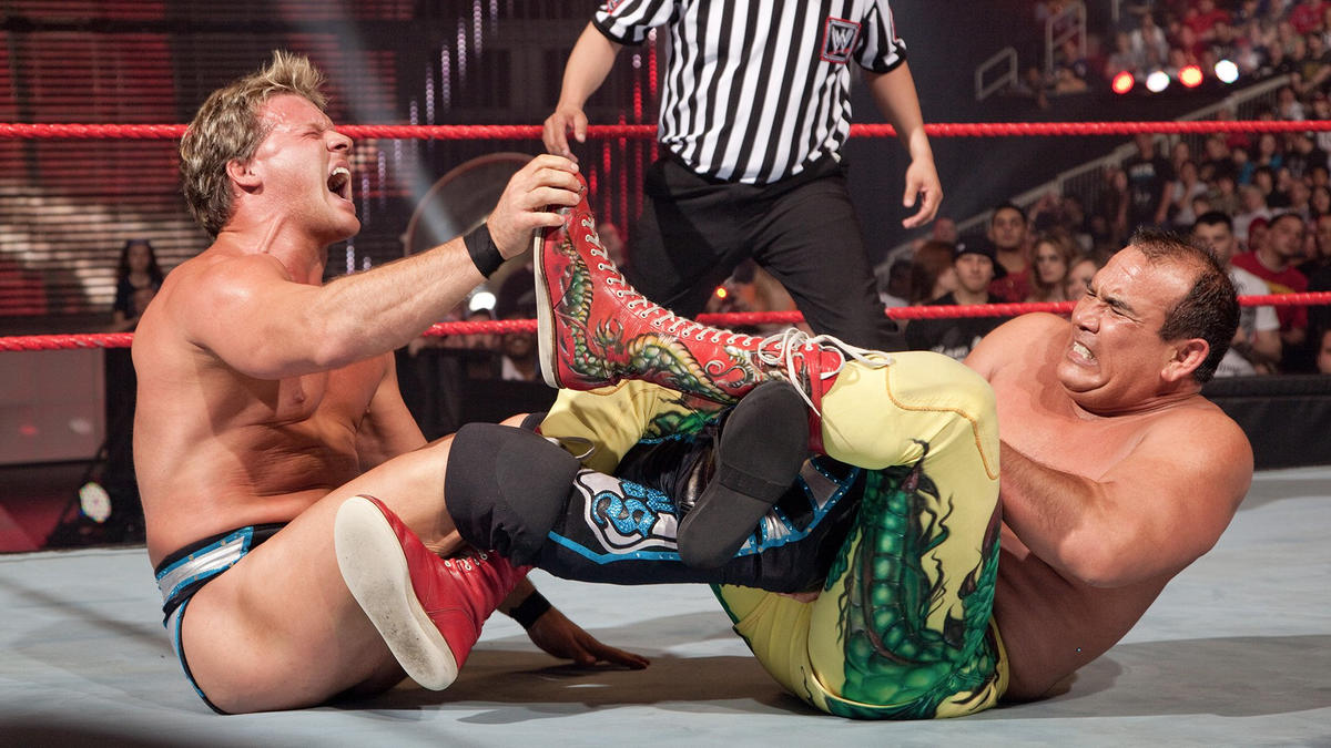 "Image result for WWE Backlash 2009 Chis Jericho vs Ricky ""The Dragon"" Steamboat wwe.com"