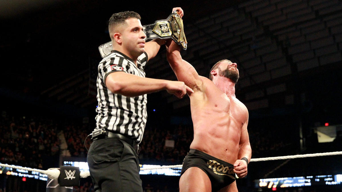 ... and picks up the victory to successfully defend his NXT Title.