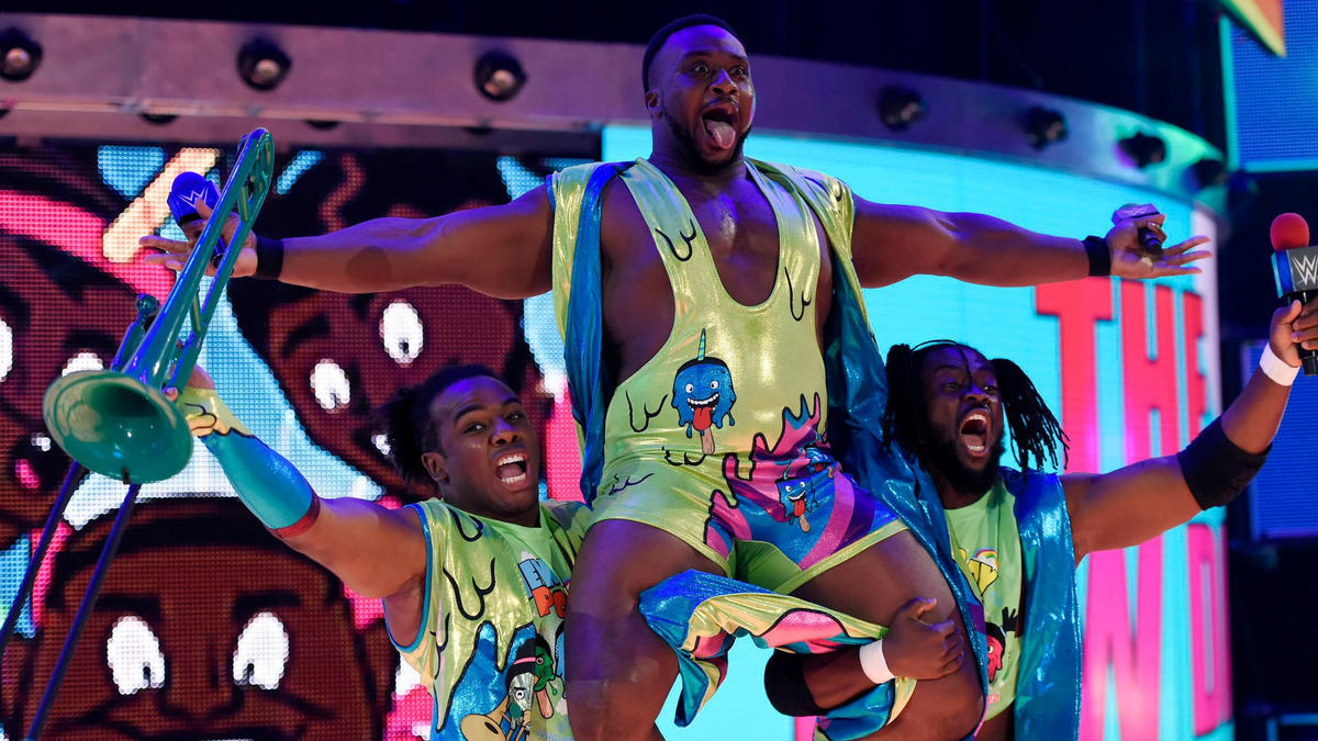 The New Day arrive to SmackDown LIVE for the first time since moving to the blue brand after the Superstar Shake-up!