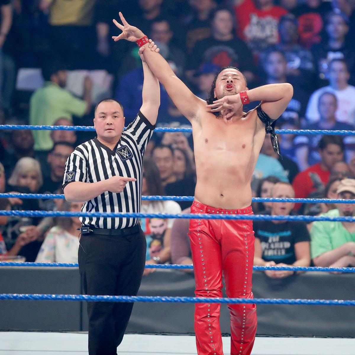 Shinsuke Nakamaura picks up an impressive victory in his SmackDown LIVE in-ring debut.