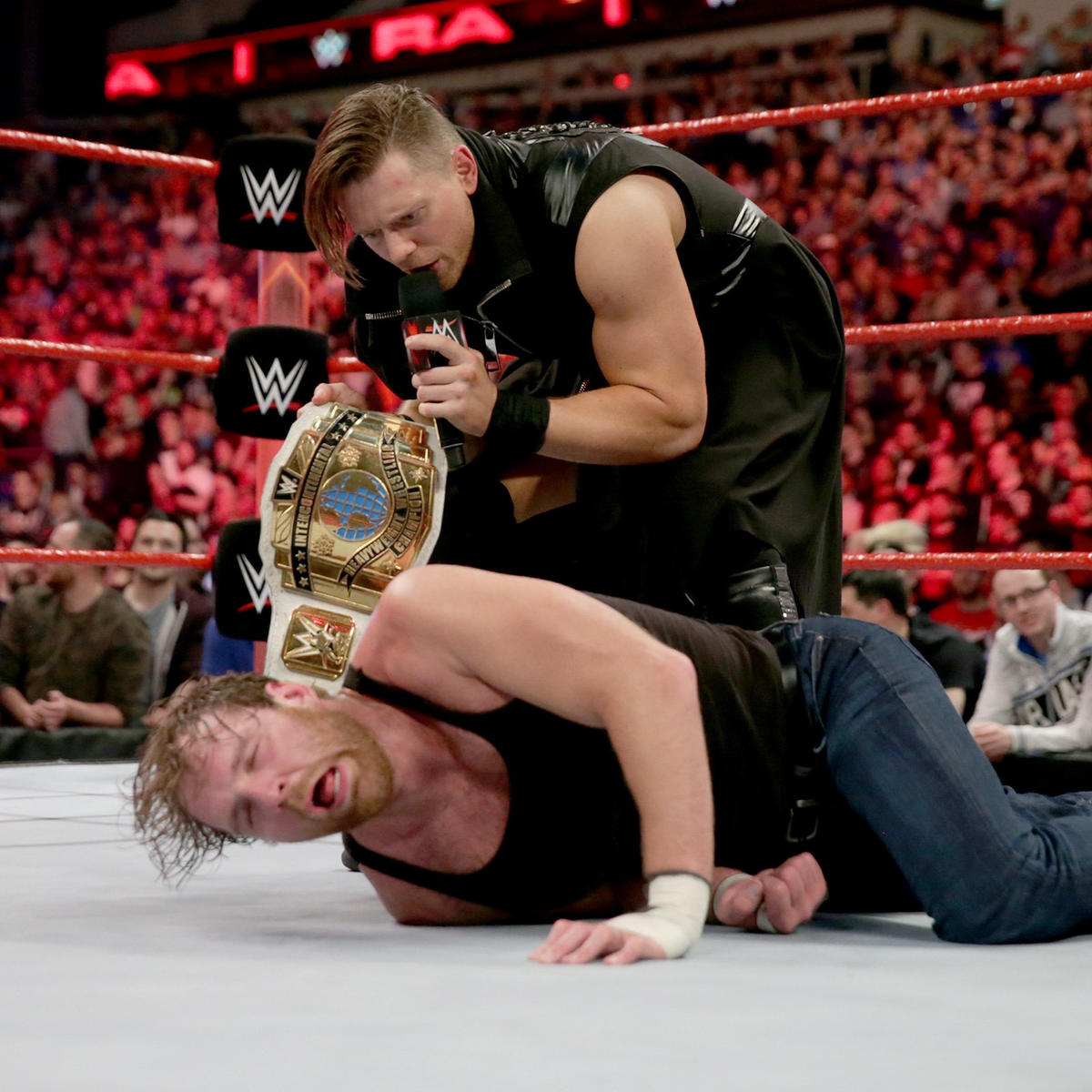 Miz vows to win the Intercontinental Championship back from Ambrose.