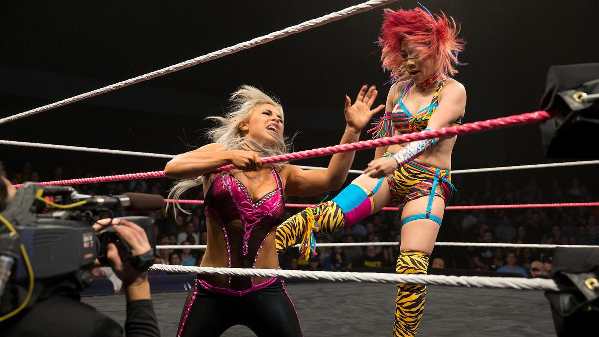 Asuka vs. Dana Brooke, NXT TakeOver: Respect