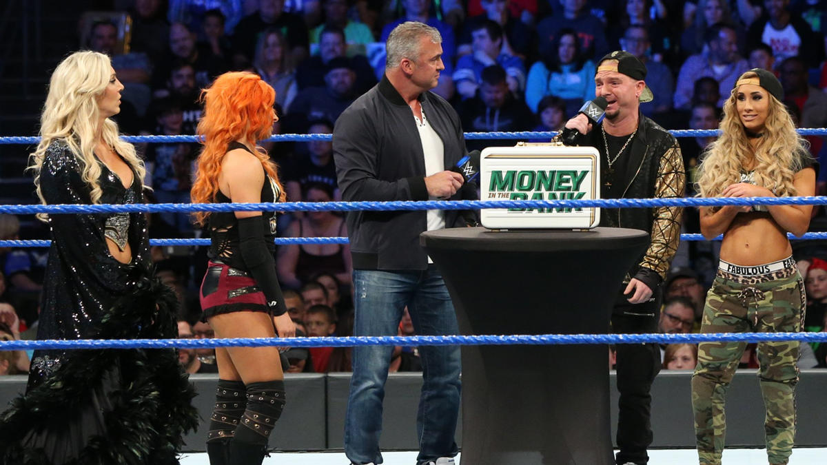James Ellsworth thinks it's a foregone conclusion that Carmella will win the briefcase.