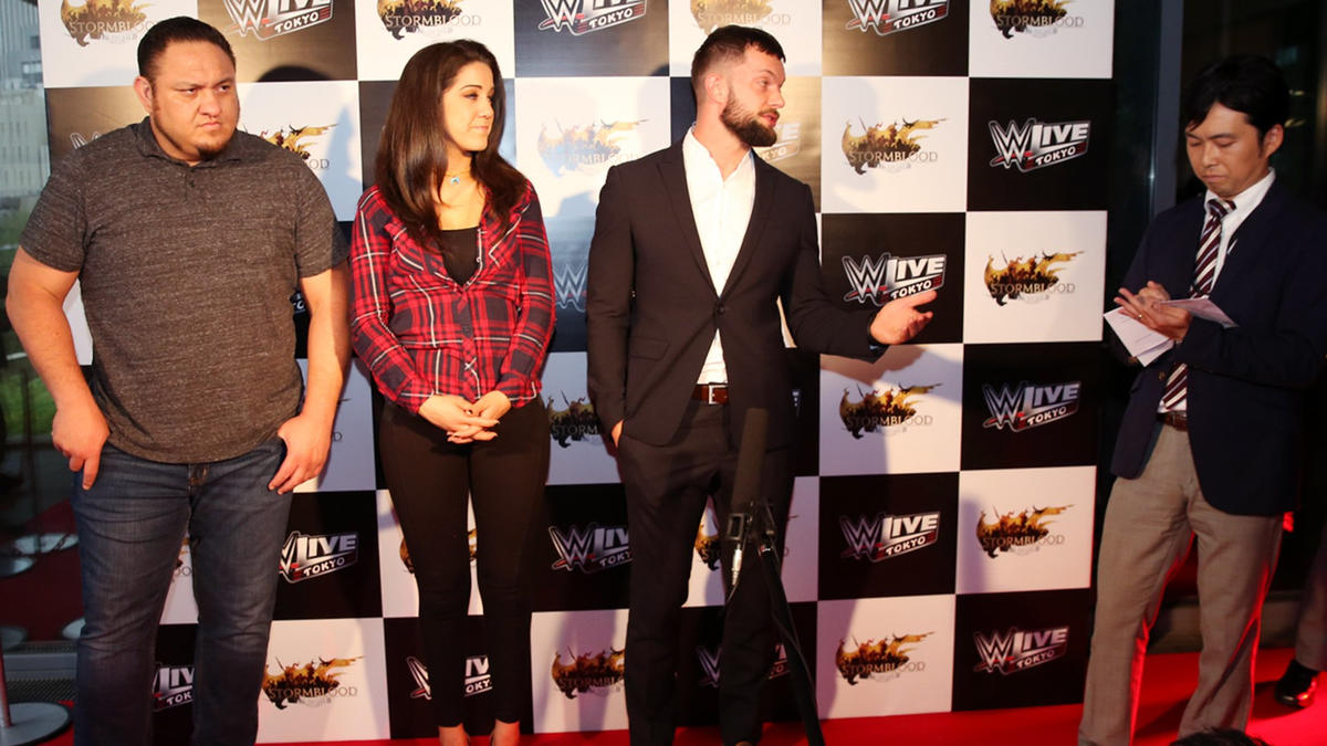 Bayley And Finn Balor