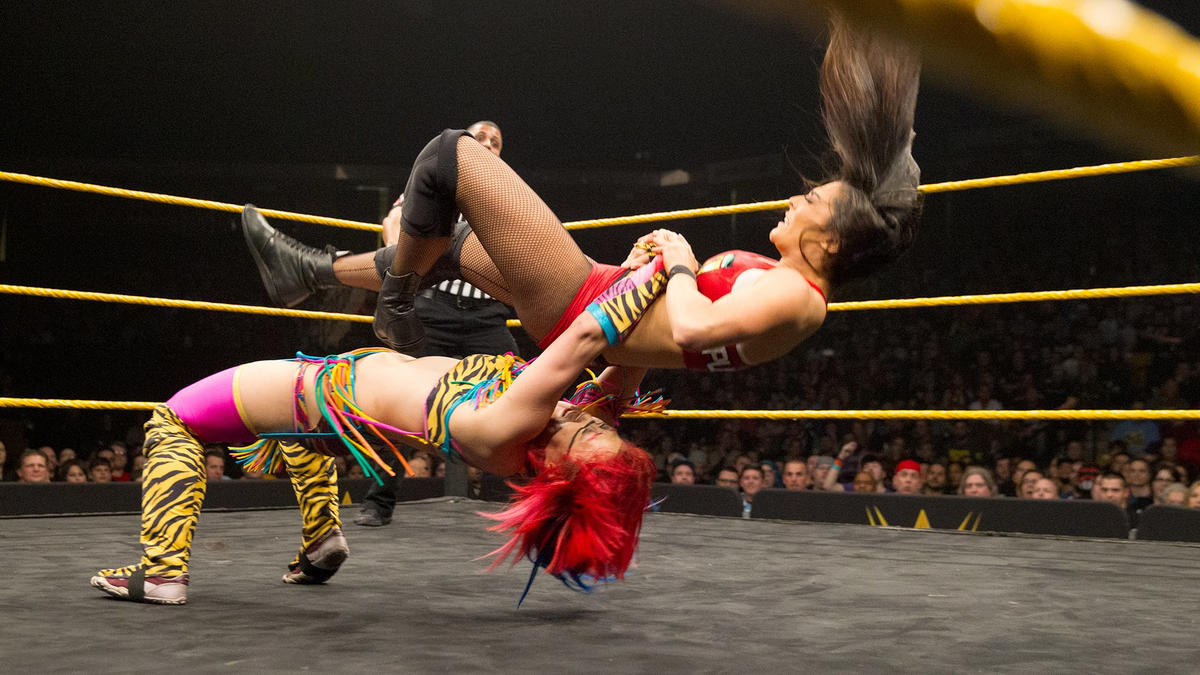 Asuka vs. Deonna Purrazzo, Feb. 17, 2016