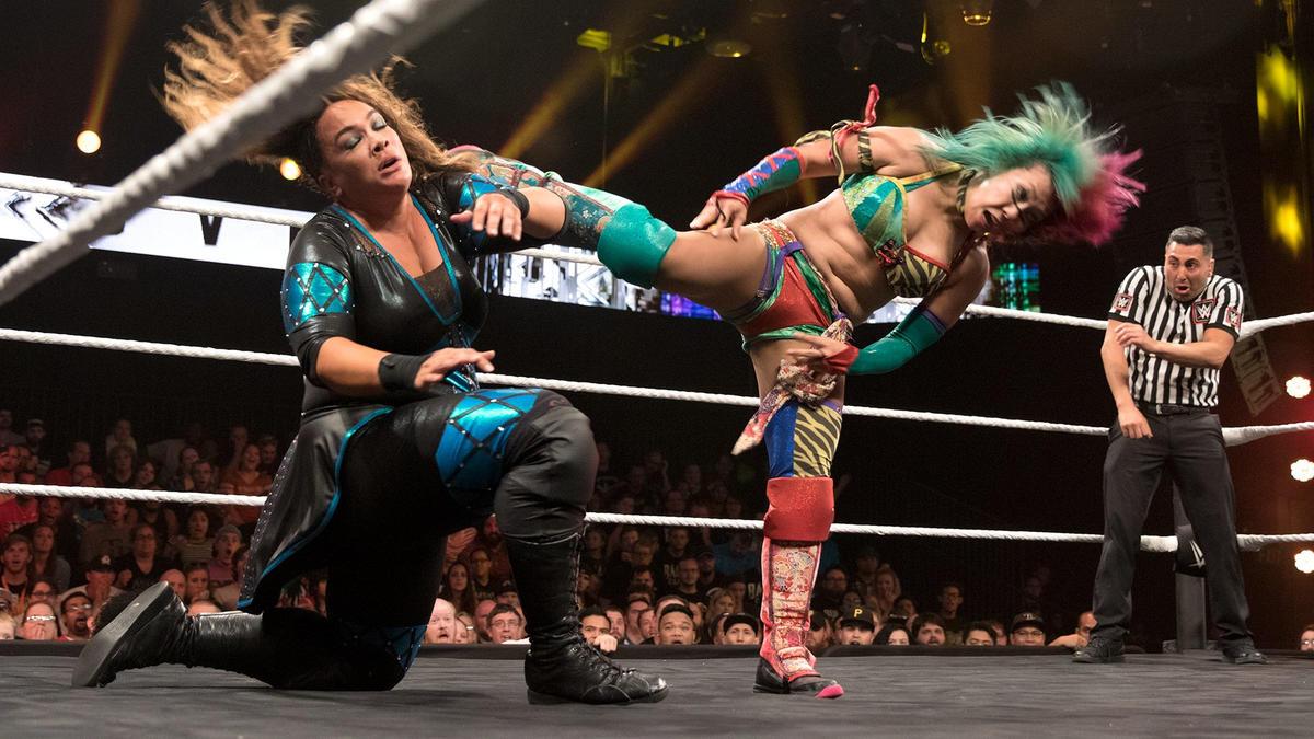 Asuka vs. Nia Jax, NXT TakeOver: The End