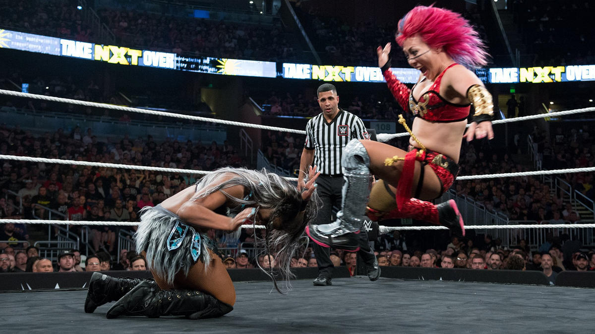 Asuka vs. Ember Moon, NXT TakeOver: Orlando
