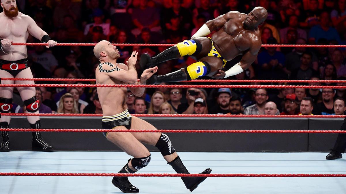 Apollo Crews & Titus O'Neil vs. Cesaro & Sheamus: photos   WWE