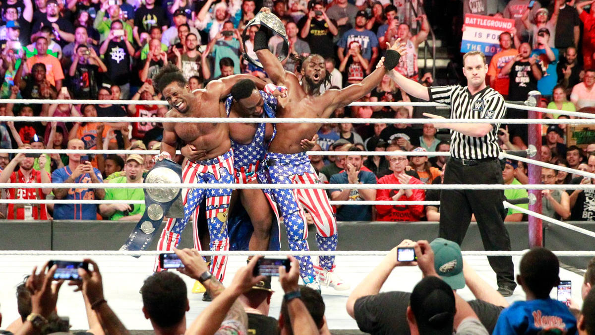 Xavier, Big E and Kofi party as only they can...
