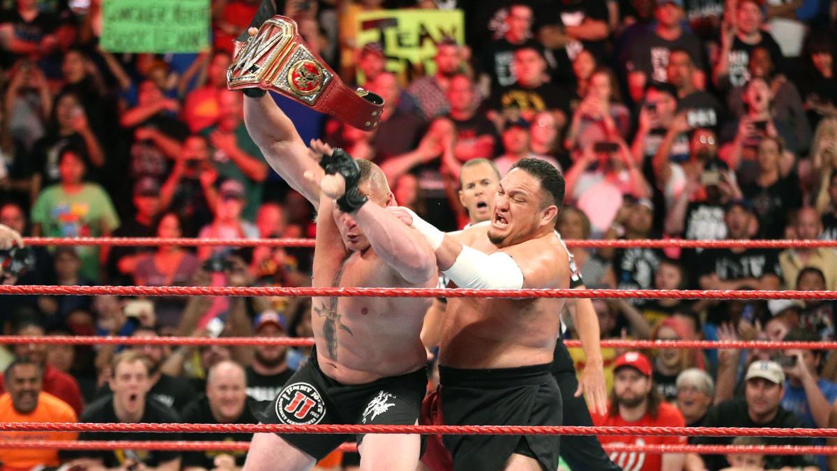 Great Balls of Fire - Brock Lesnar vs Samoa Joe
