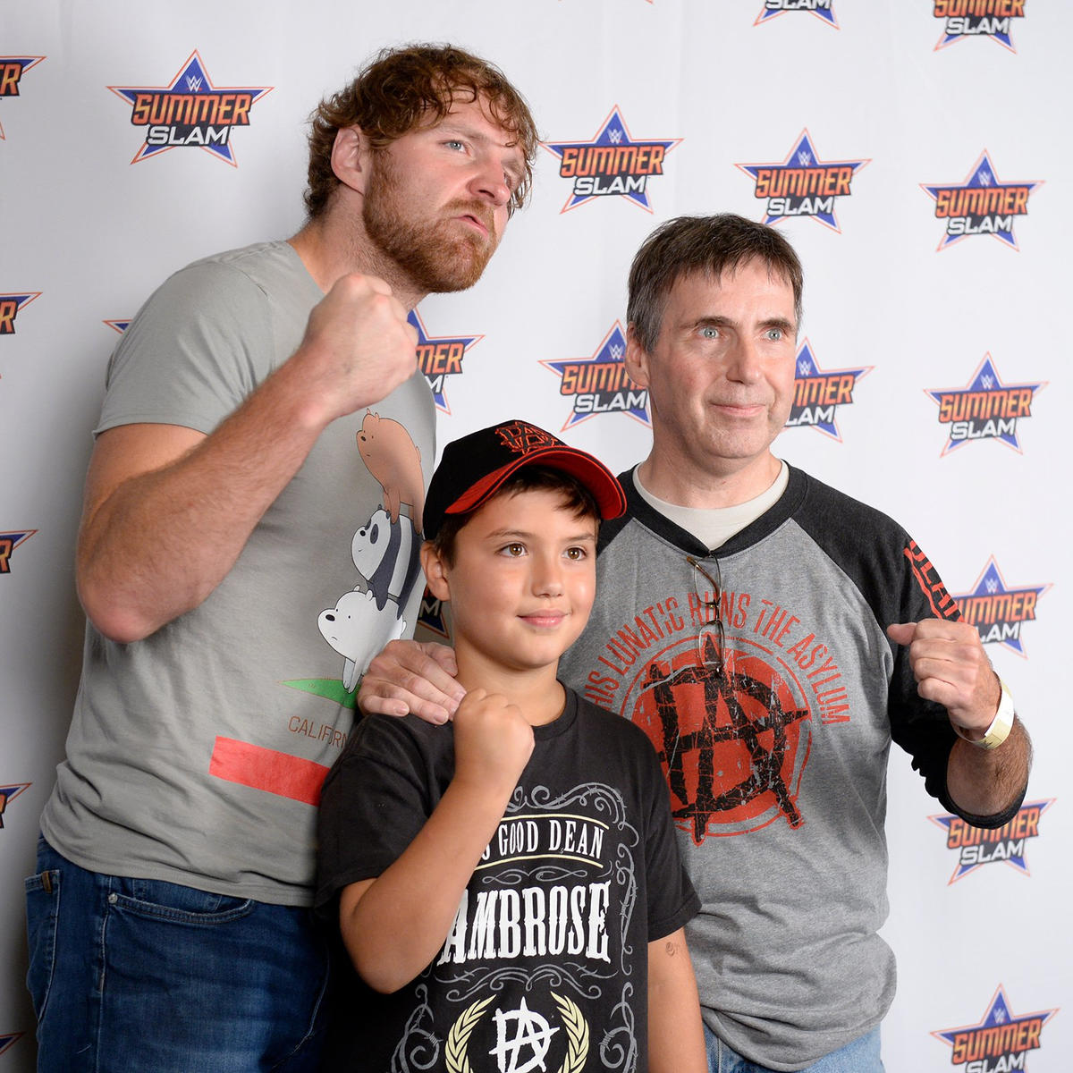 Aj Styles And Dean Ambrose Engage The Fans In A Special Summerslam