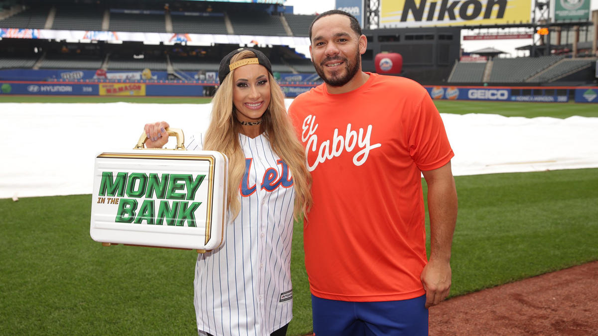 Matt jeff hardy curt hawkins and carmella meet the new york clearly the mets have an excellent catcher in rene rivera he even caught a kristyandbryce Gallery
