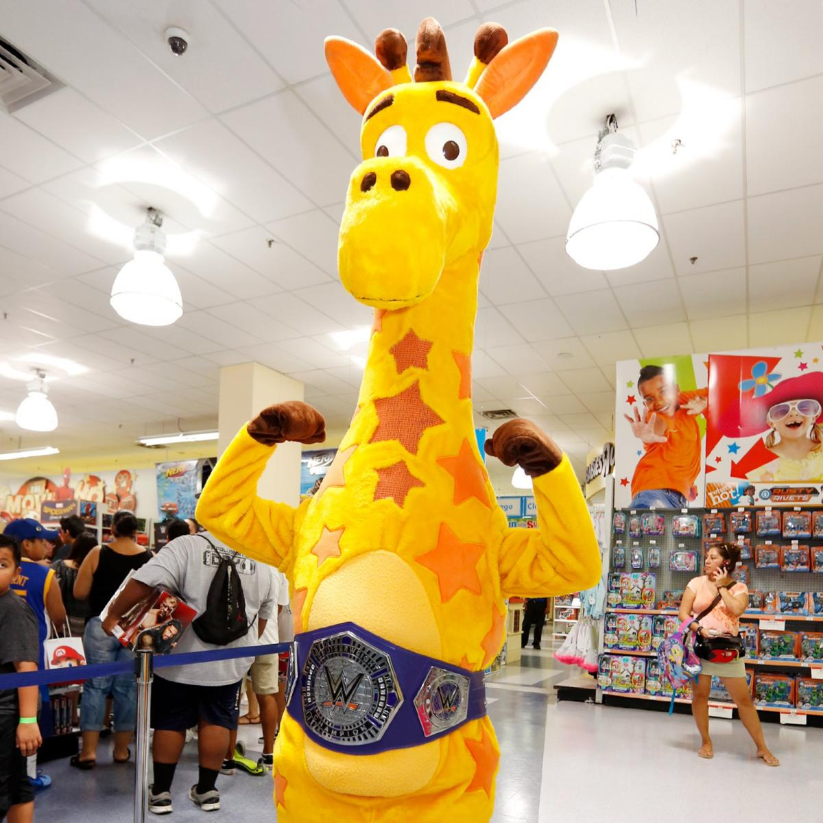 Neville Meets The Wwe Universe At Toys R Us Photos Wwe