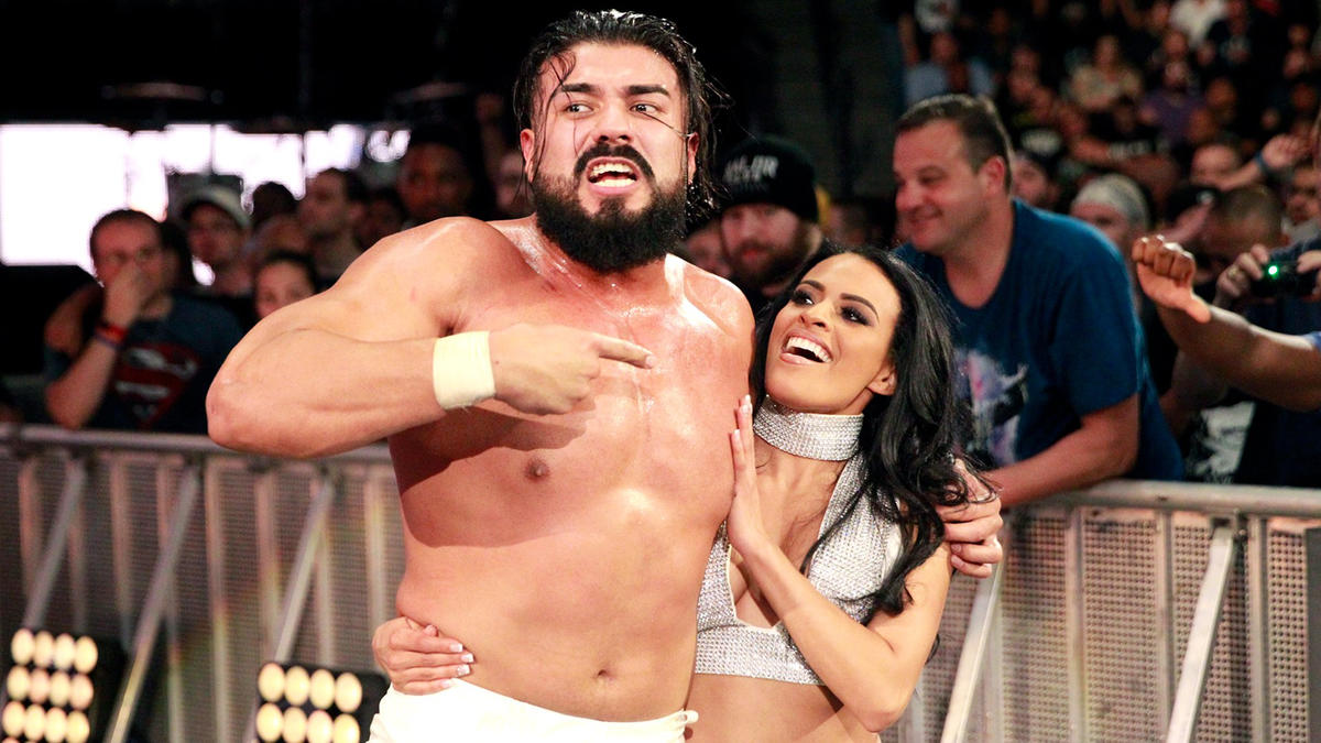 Gargano seemed primed for victory when Almas' new business manager, Zelina Vega, suddenly threw a #DIY T-shirt into his arms, allowing Almas to pounce with a dropkick followed by his trademark hammerlock DDT for the win.