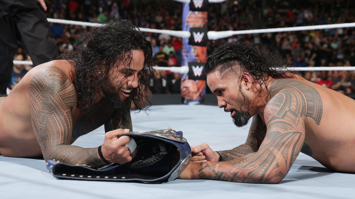 The Usos reclaim the SmackDown Tag Team Titles!