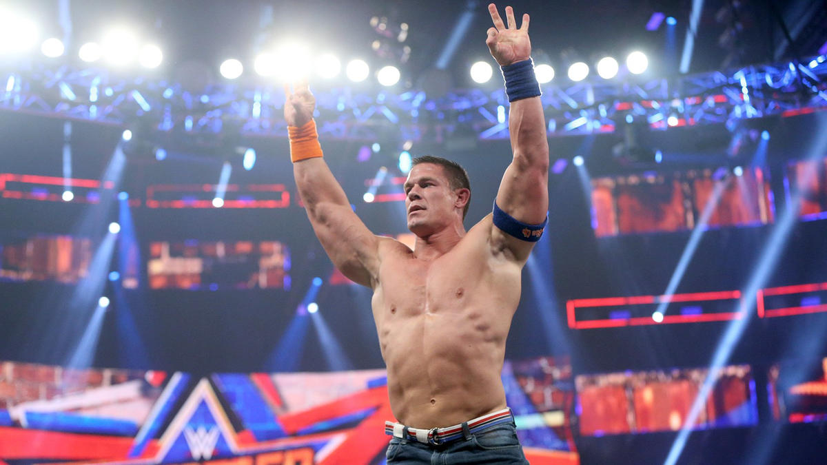 Cena overcomes Corbin's vicious onslaught to pick up an impressive victory - his first at SummerSlam since 2010.