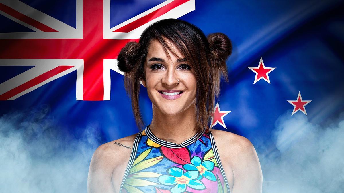 Dakota Kai, New Zealand (Twitter: @DakotaKai_WWE)