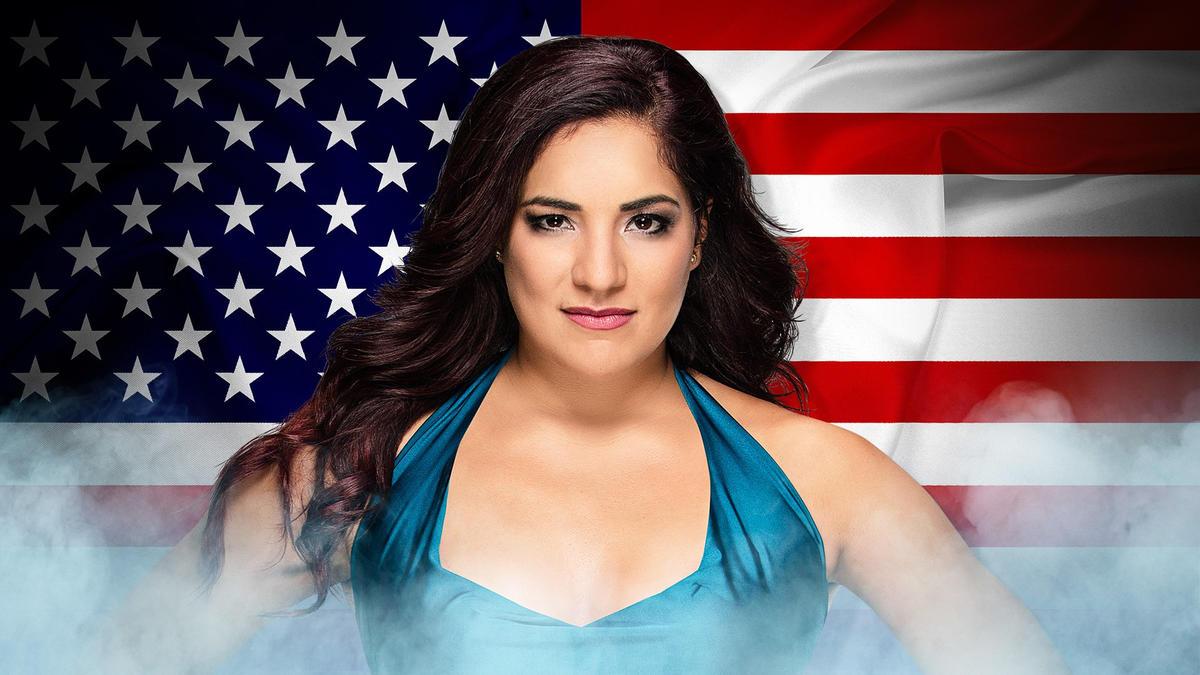 Reina González, USA (Twitter: @ReinaGWWE)