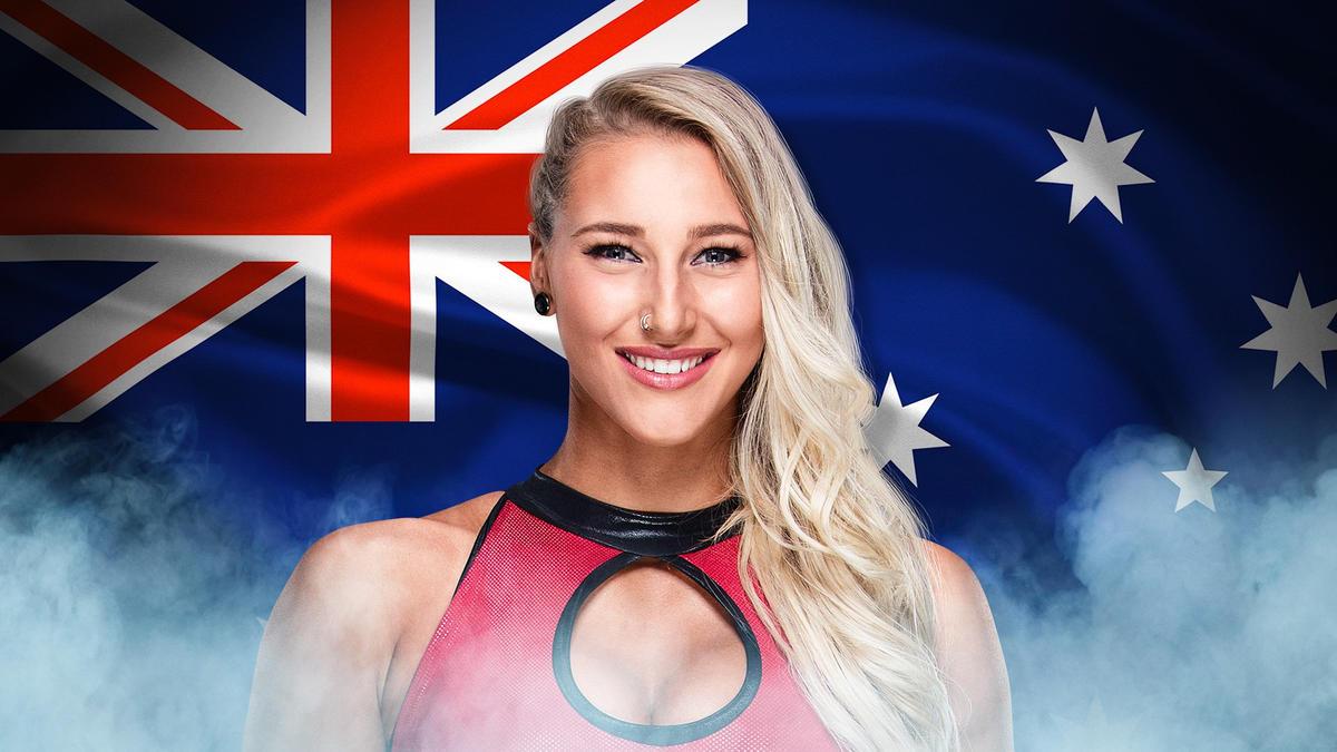 Rhea Ripley, Australia (Twitter: @RheaRipley_WWE)