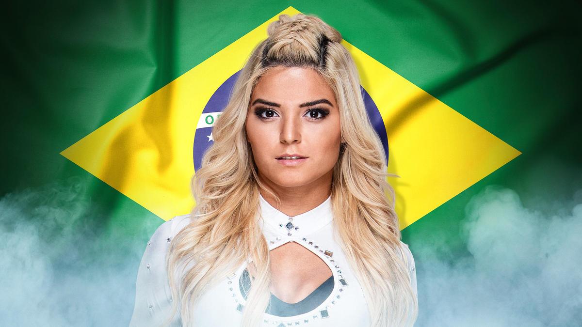 Taynara Conti, Brazil (Twitter: @TaynaraContiWWE)