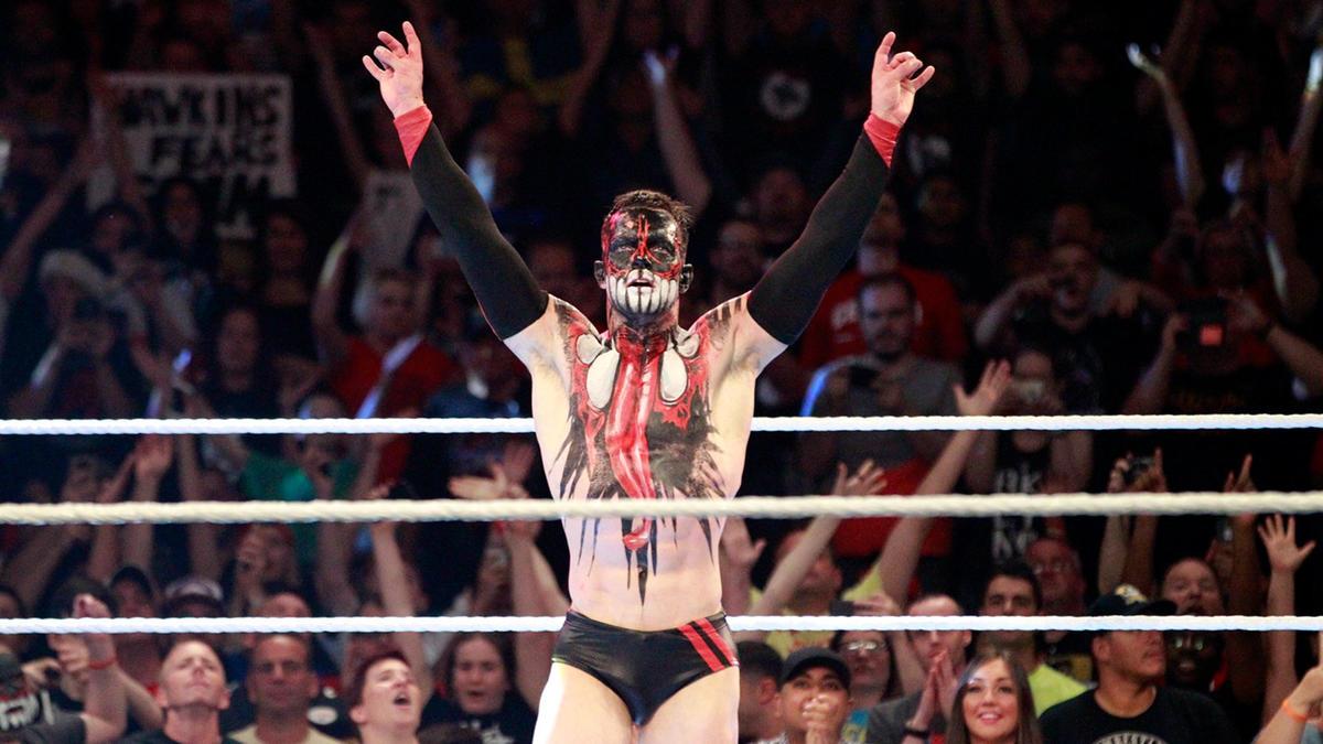 Finn Bálor emerges victorious following a chest-caving Coup de Grace.