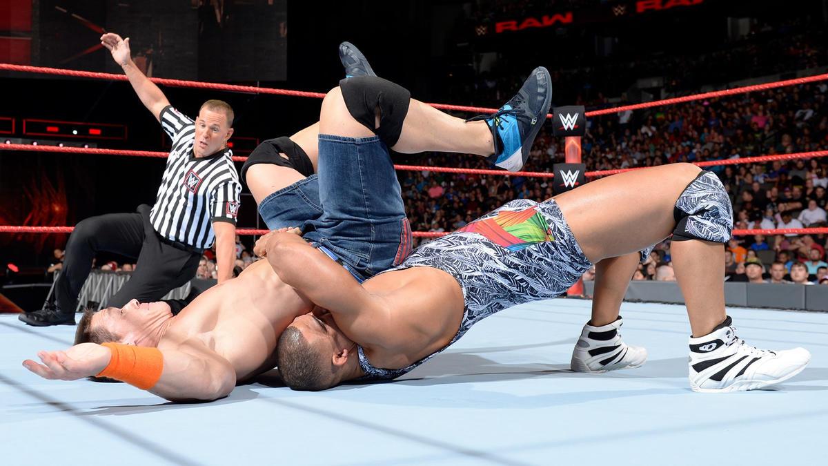 John Cena vs. Jason Jordan: photos   WWE