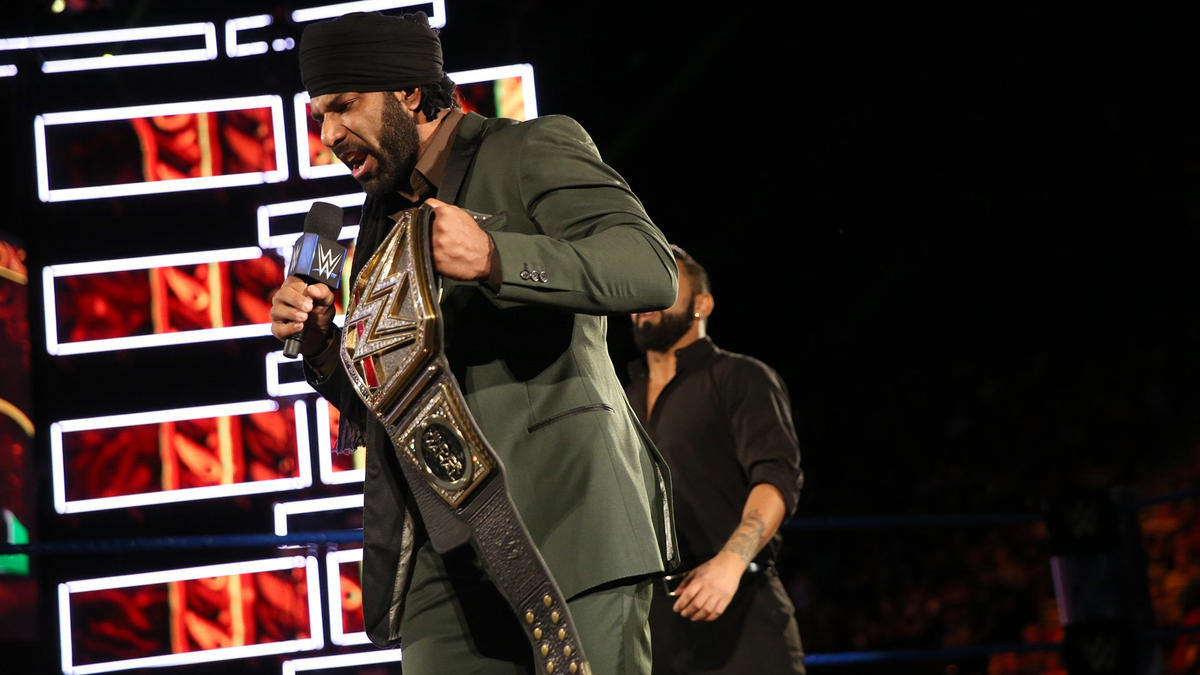 Mahal will defend the WWE Title against Nakamura at WWE Hell in a Cell.