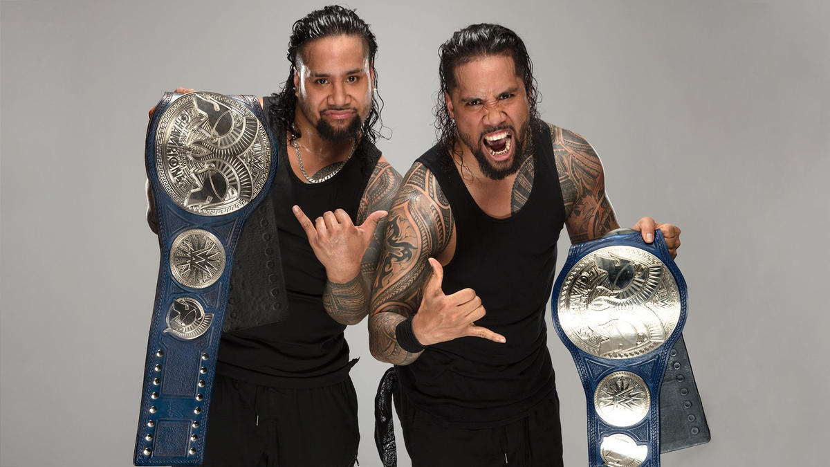 Image result for WWE The Usos Tag Team Champions