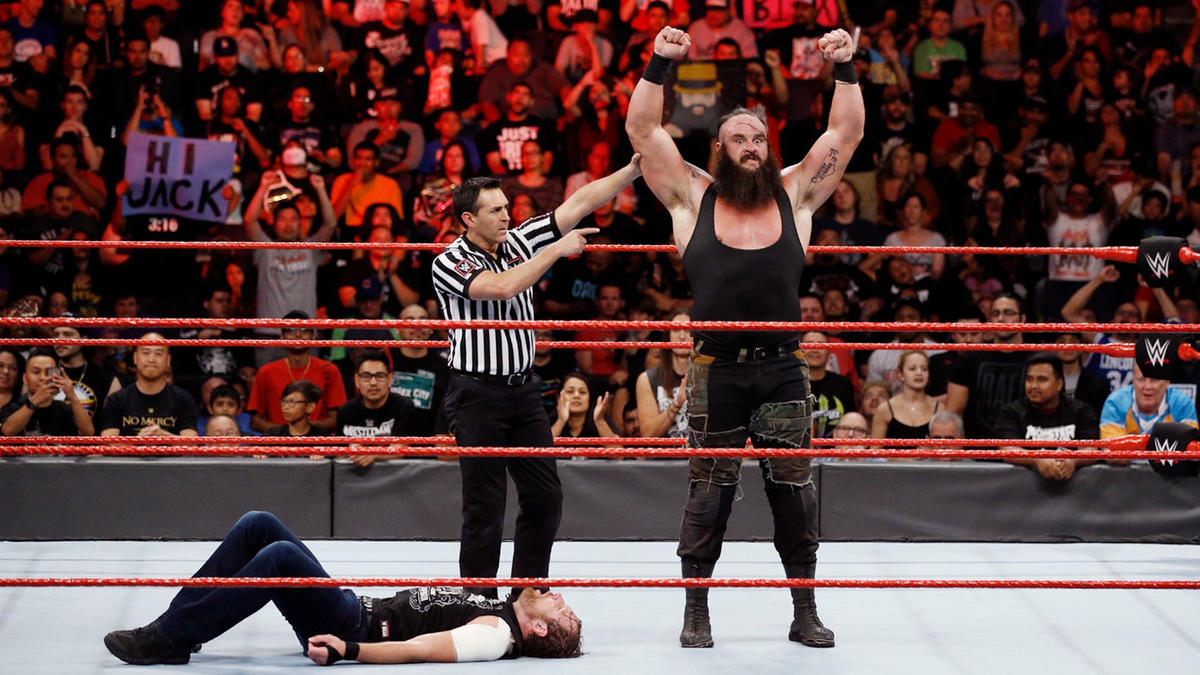 Strowman stands tall in victory.