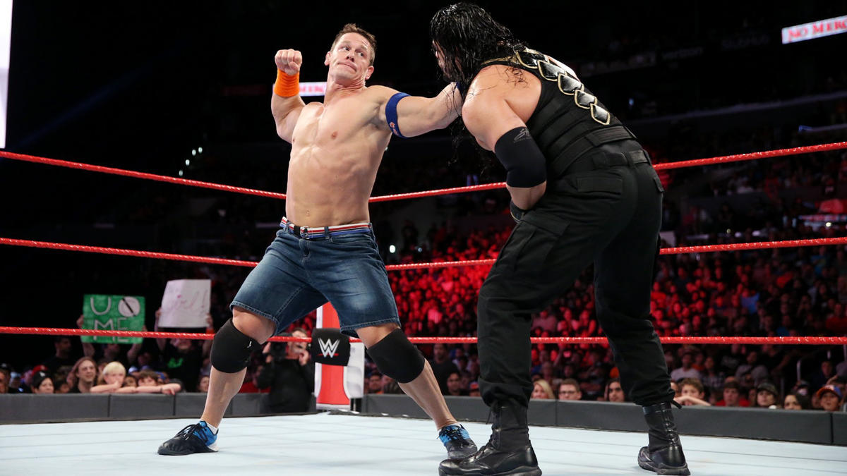 WWE News: John Cena & Roman Reigns Battle For Intercontinental Title ...