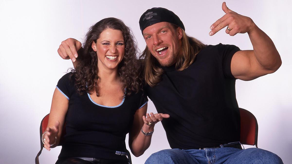 """Картинки по запросу """"Triple H and Stephanie"""""""""""