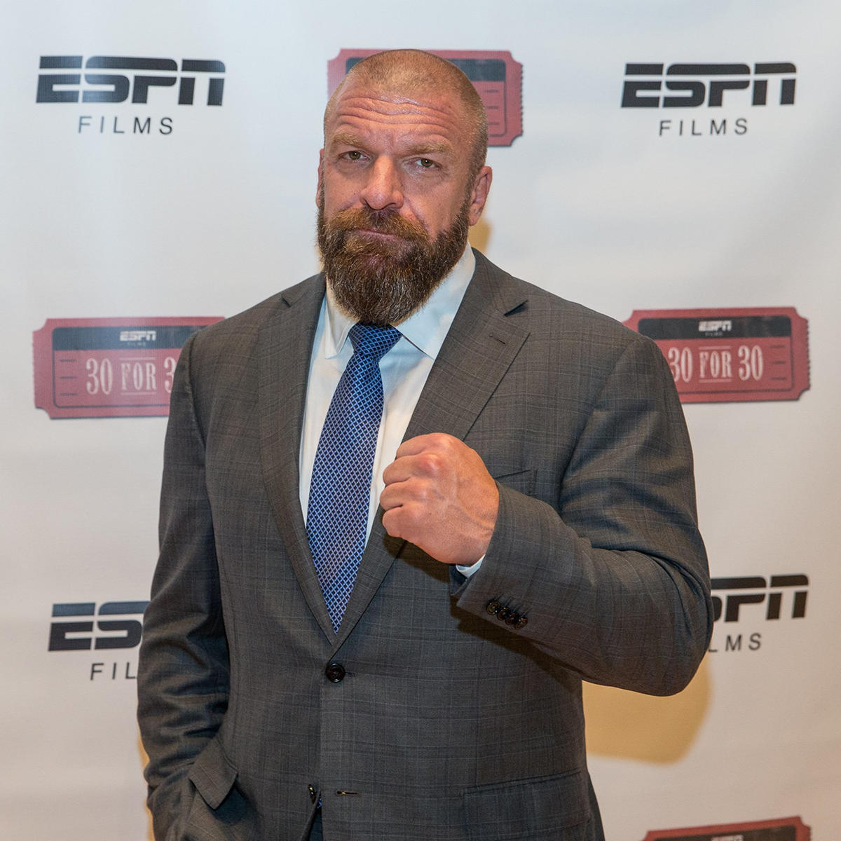WWE COO Triple H joins Charlotte for the premiere.