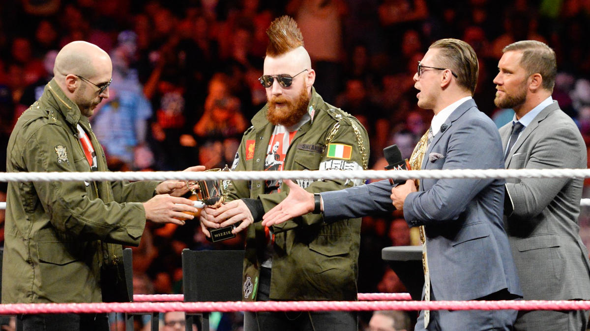 As do Sheamus & Cesaro.