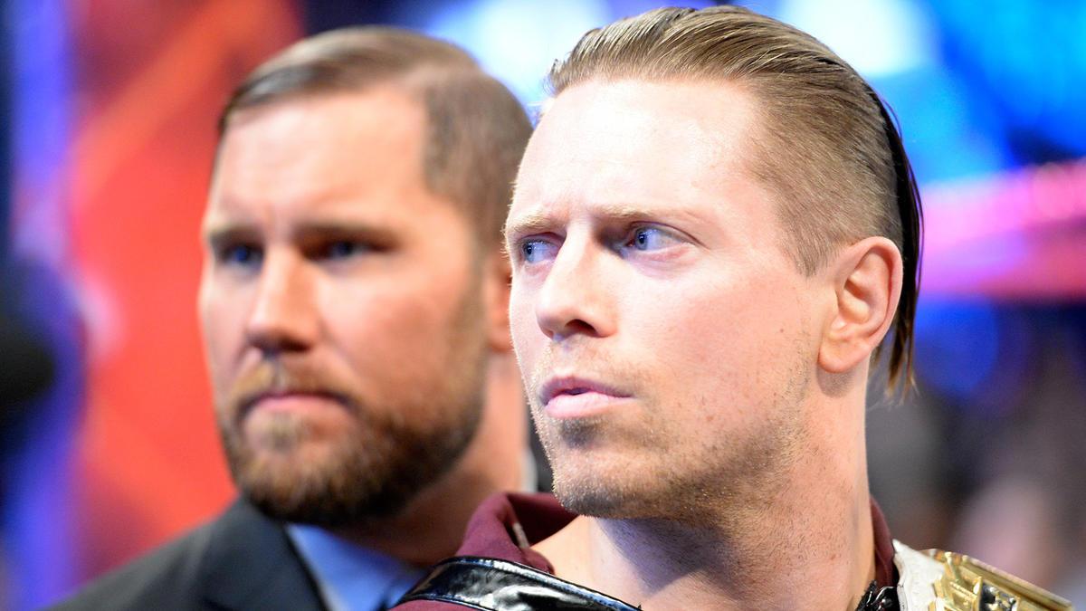 Seth Rollins Dean Ambrose Aj Styles Vs The Miz Sheamus Cesaro