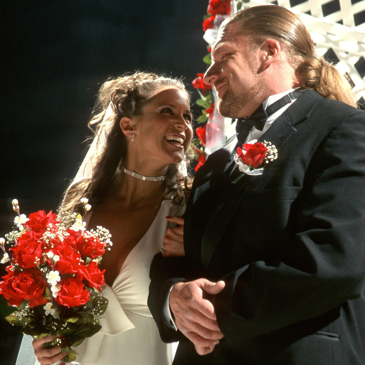 WWE Couple Triple H And Stephanie McMahon Celebrate 17th Marriage Anniversary 1