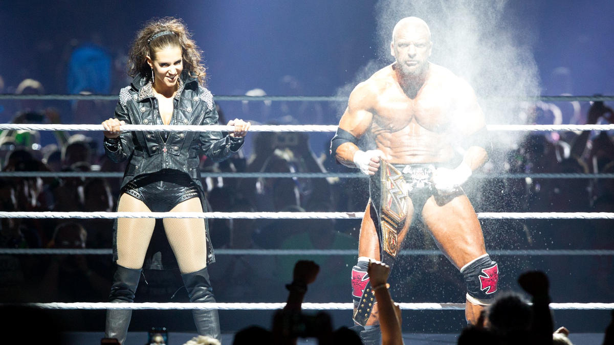WWE Couple Triple H And Stephanie McMahon Celebrate 17th Marriage Anniversary 4