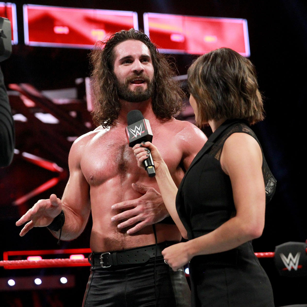... and that he and Dean Ambrose will be getting their rematch next week against The Bar for the Raw Tag Team Championship!