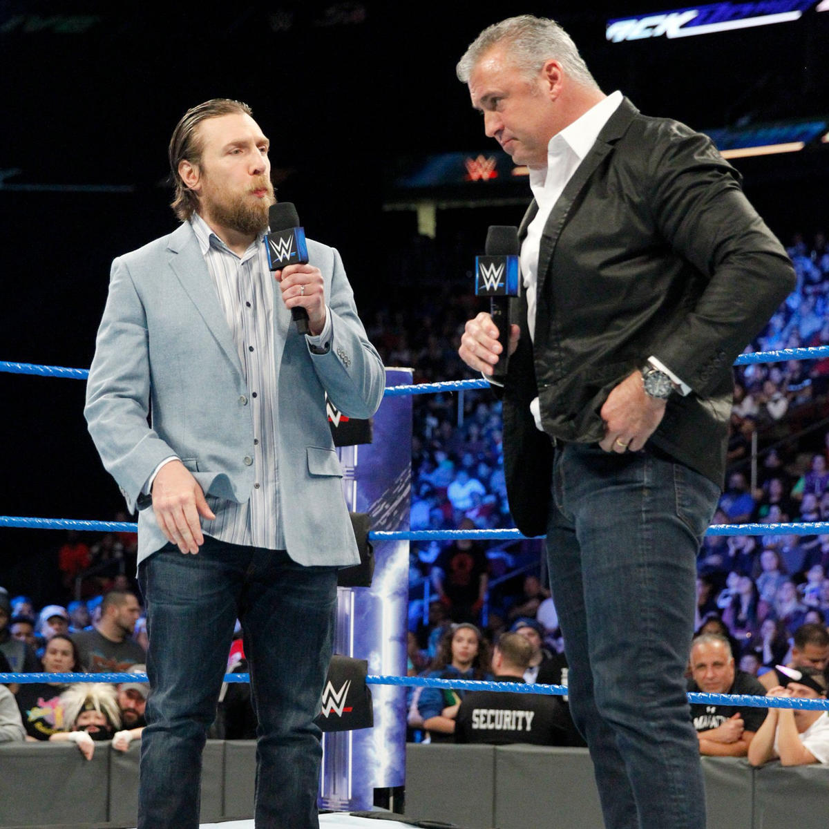 Bryan says he did what he did to protect Shane from himself and to protect their idea that SmackDown LIVE is the Land of Opportunity.
