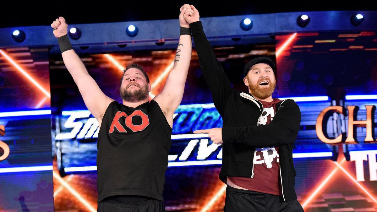 WWE altera os planos para Sami Zayn e Kevin Owens na WrestleMania 34
