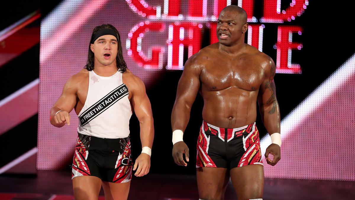 One week after nearly beating The Usos for the SmackDown Tag Team Championship, Chad Gable & Shelton Benjamin stalk to the ring.
